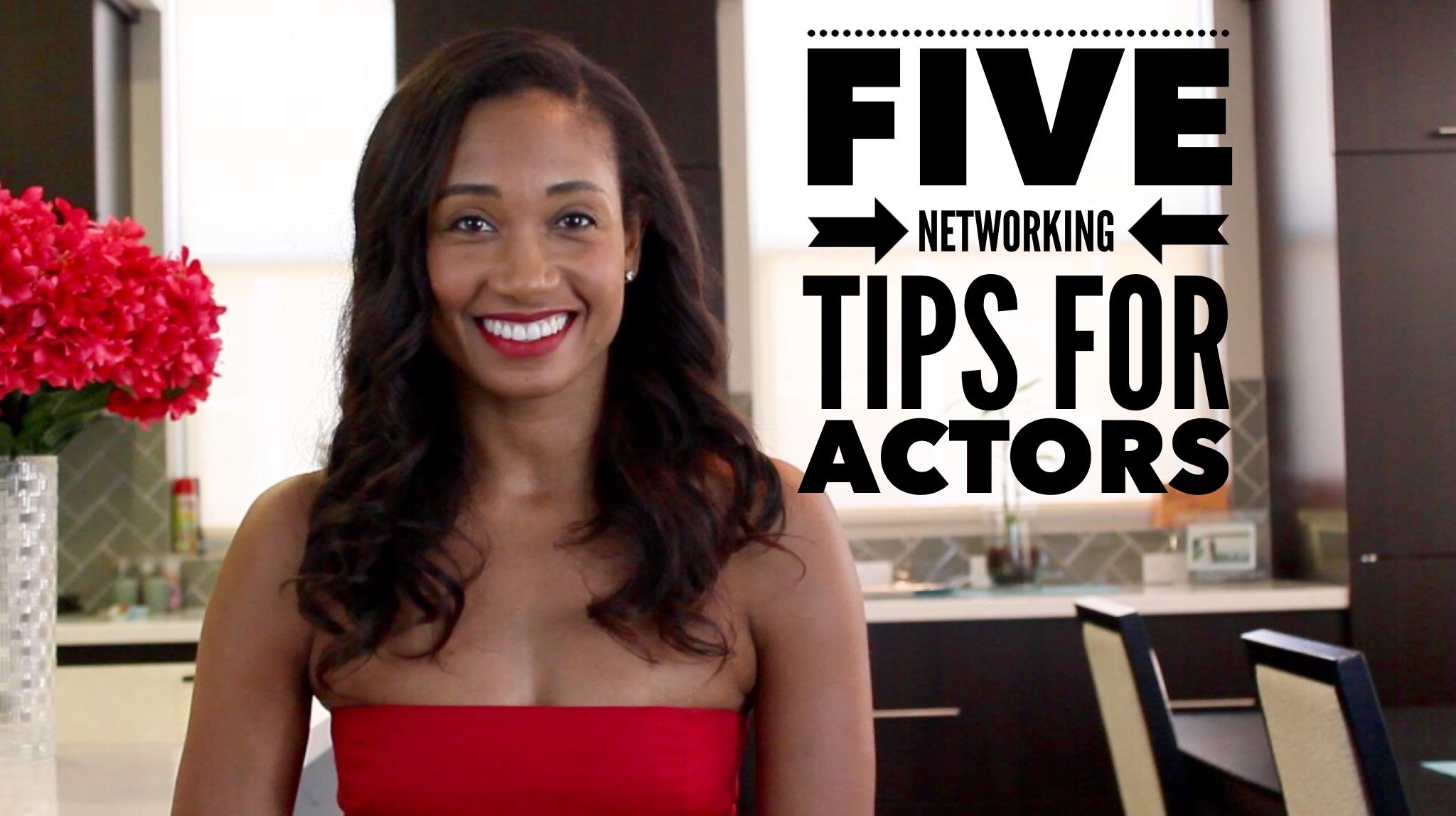 Five Networking Tips For Actors | The Workshop Guru