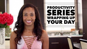 How To Wrap Up Your Day As An Actor | #ProductivitySeries Vol. 5