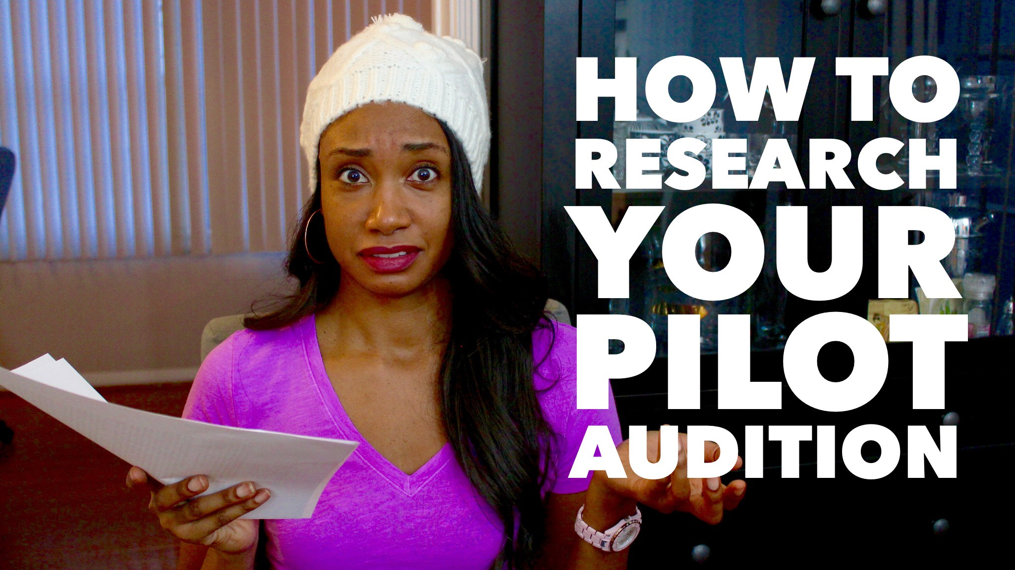 How To Research Your Pilot Audition | #PilotSeasonSeries Vol. 2