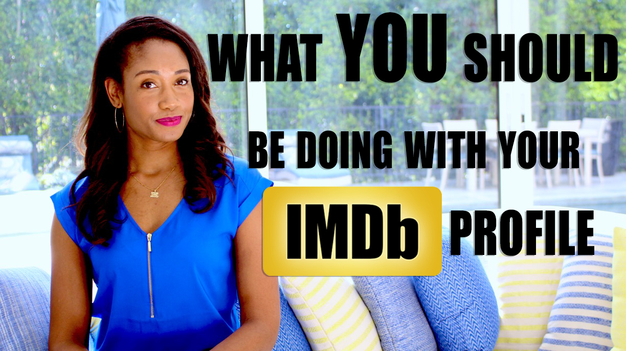 What You Should Be Doing With Your IMDb Profile | The Workshop Guru
