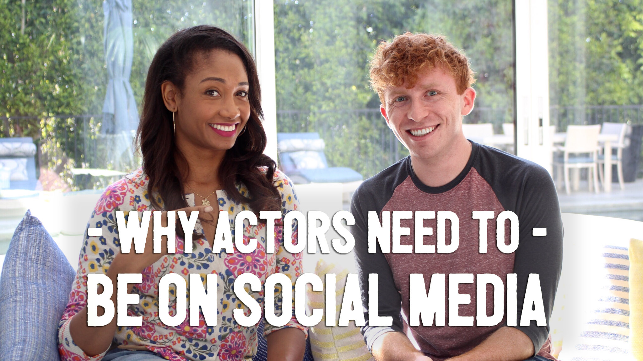 Why Actors Need To Be On Social Media (with special guest Evin Michaels!) | Workshop Guru