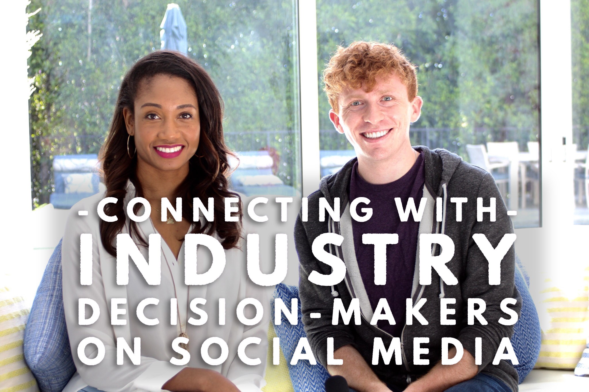 Connecting With Industry Decision-Makers on Social Media (with guest Evin Michaels)   Workshop Guru