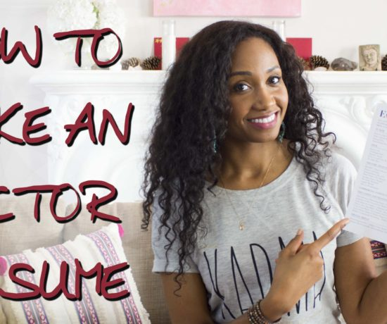 How To Make An Actor Resume | Acting Resource Guru | Ajarae Coleman