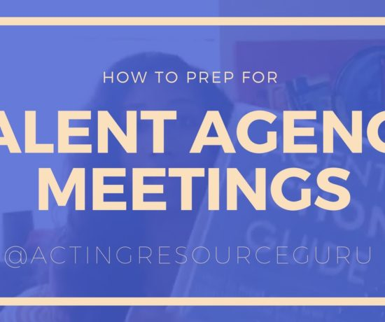 How To Prep For Agent And Manager Meetings   Acting Resource Guru   Ajarae Coleman